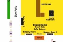 Sofia Balcony floor plan