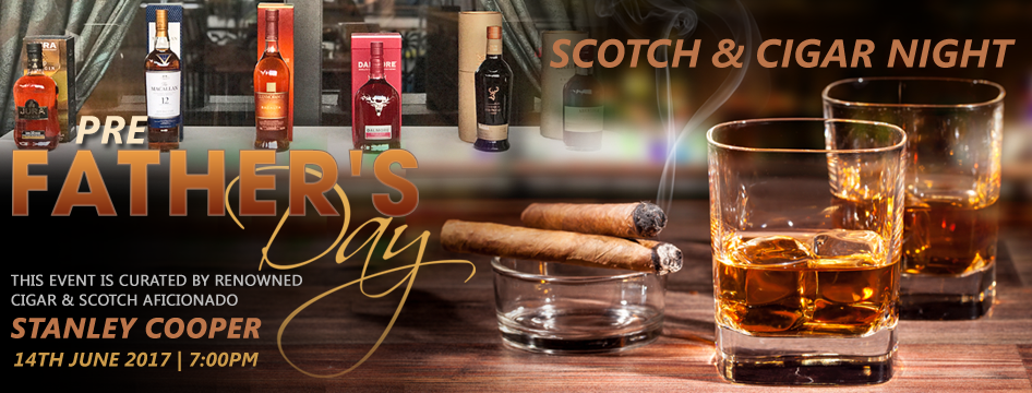 Scotch and Cigar Night at Noor