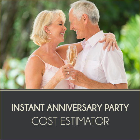 Anniversary Party Cost Estimator