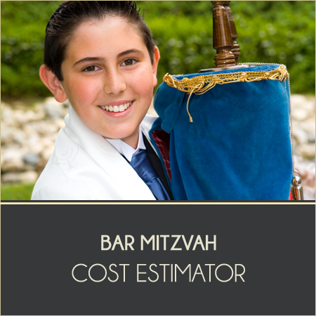 Bar Mitzvah Cost Estimator
