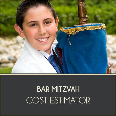 Bar Mitzvah Cost Estimator