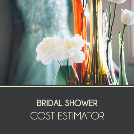 Bridal Shower Cost Estimator