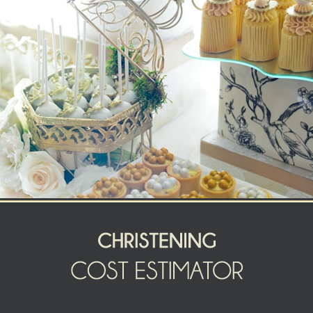 Christening Cost Estimator