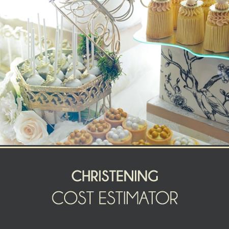 Christening Cost Estimator