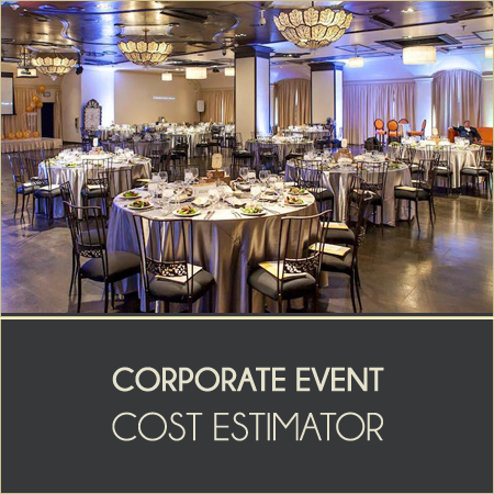 Corporate Event Cost Estimator