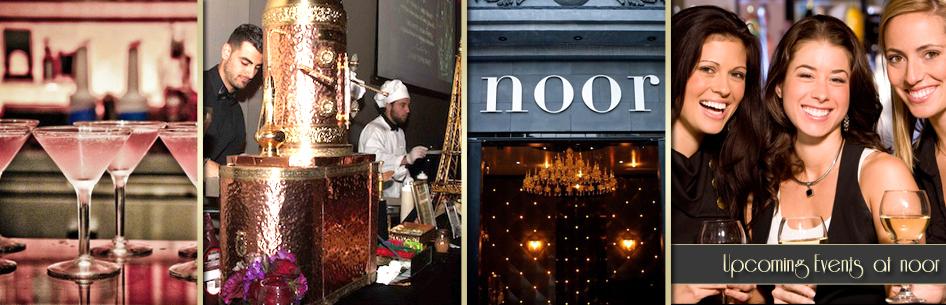 Noor's upcoming events