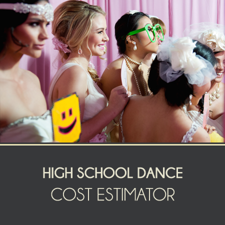 High School Dance Cost Estimator