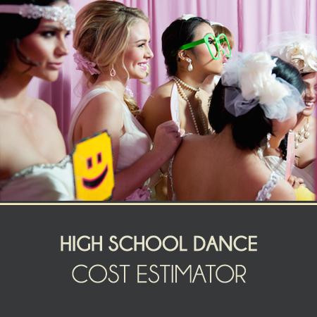 High School Dance Cost Estimator