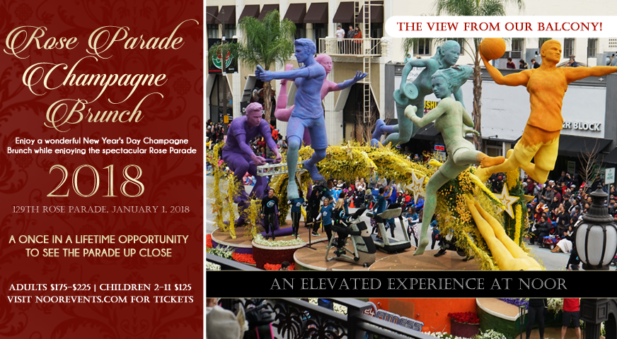 Noor's Rose Parade Champagne Brunch Tickets