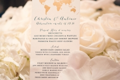 Wedding Details and Menu at Noor Pasadena Wedding