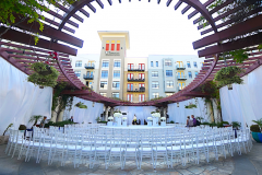 4. Noor Terrace-Wedding Ceremony with Stage Over Fountain