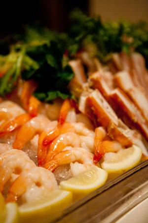 Image of seafood display