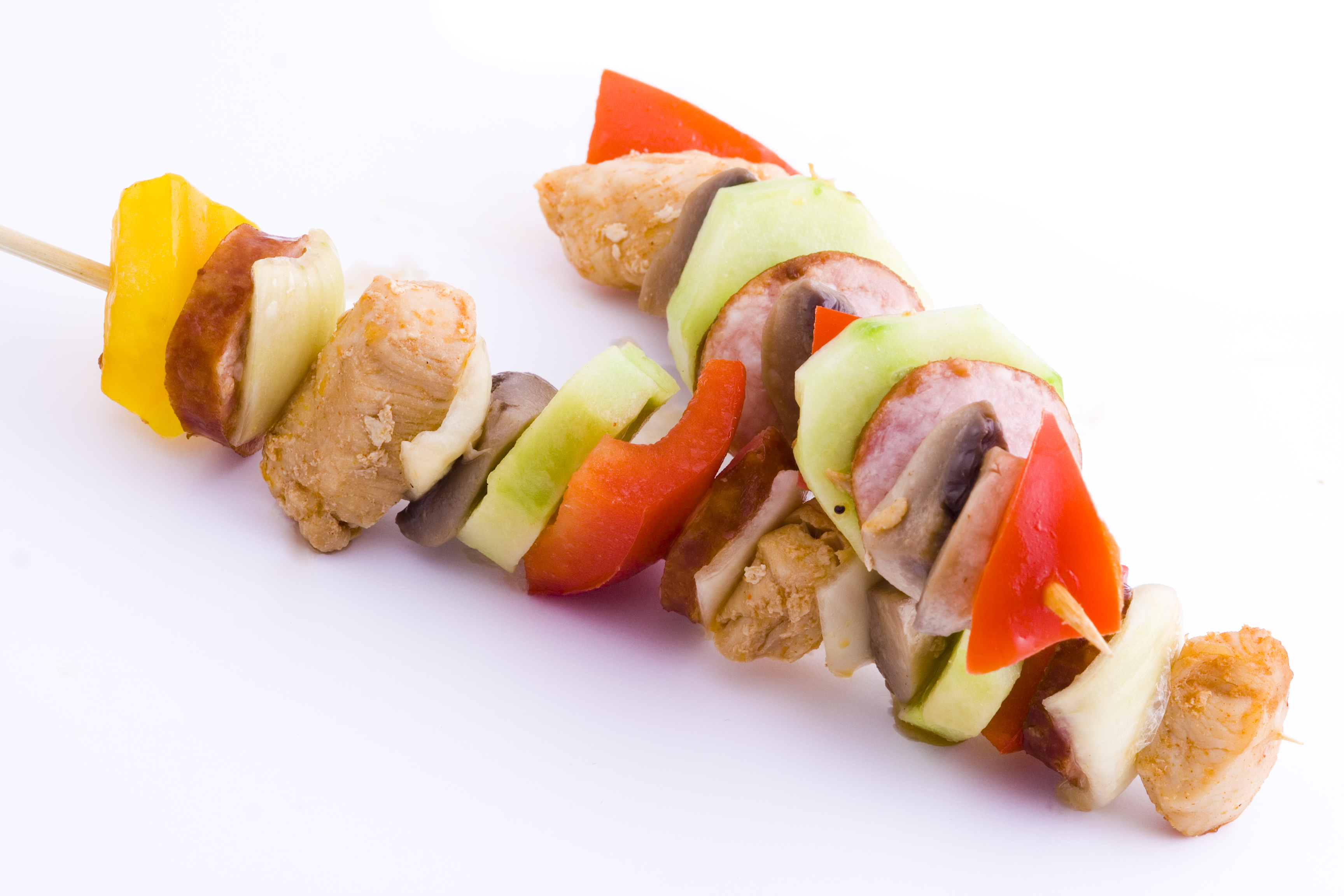 Photo of chicken kebab