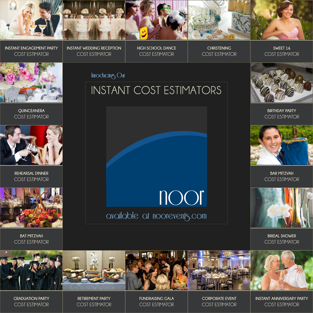 Get An Instant Cost Estimation For Your Event
