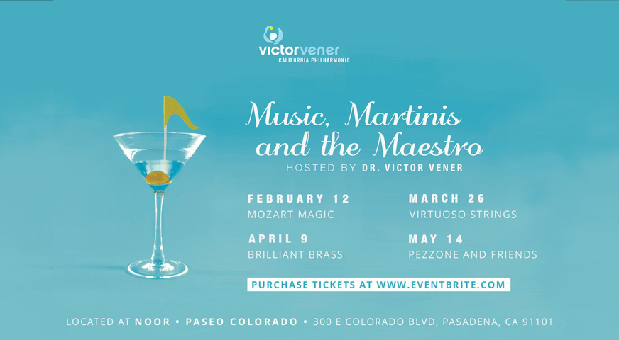 Music, Martinis And The Maestro