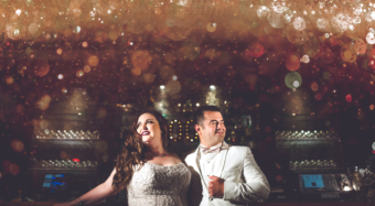 wedding couple portrait great gatsby themed wedding at noor