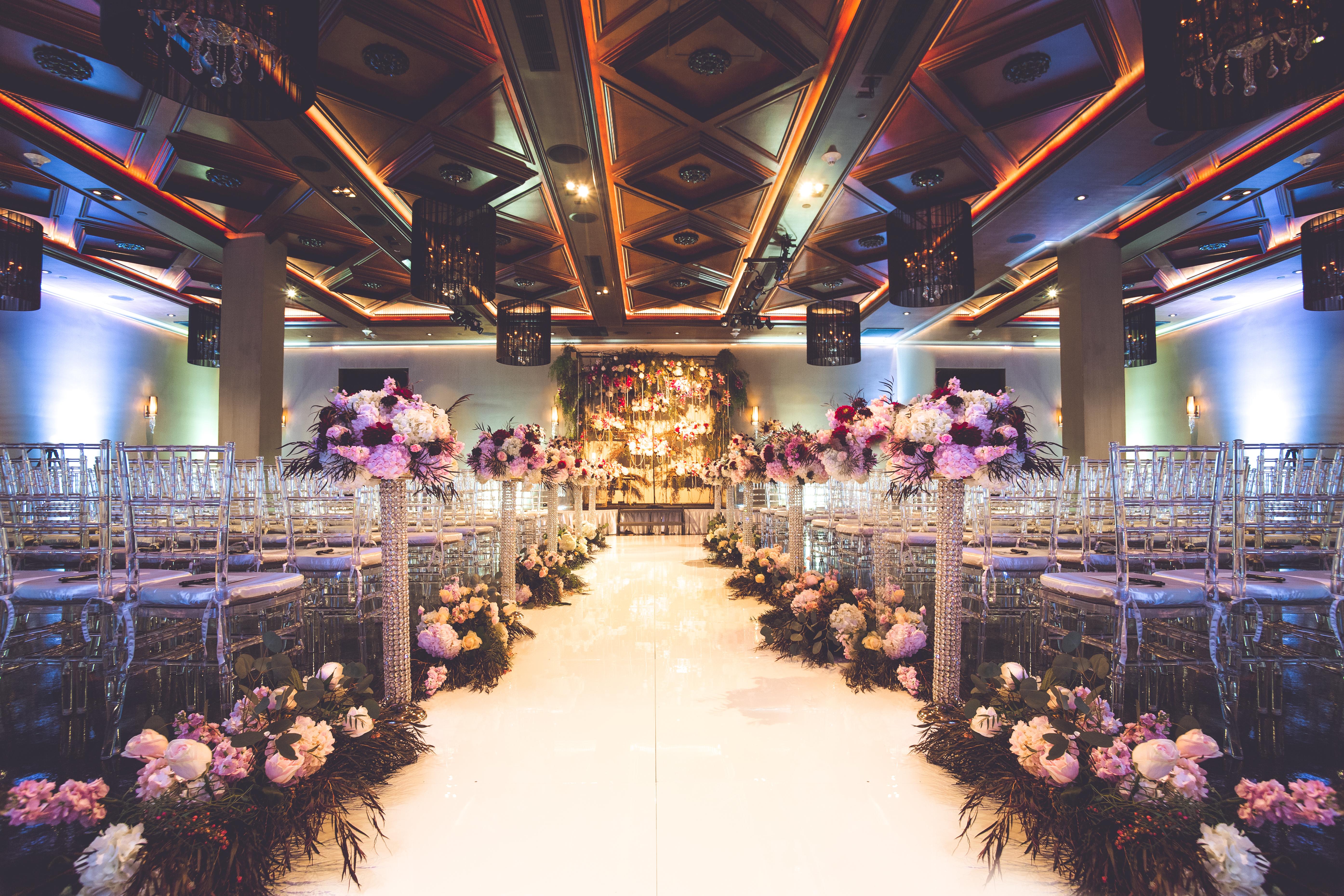 Noor Pasadena Wedding Ceremony Ella Ballroom