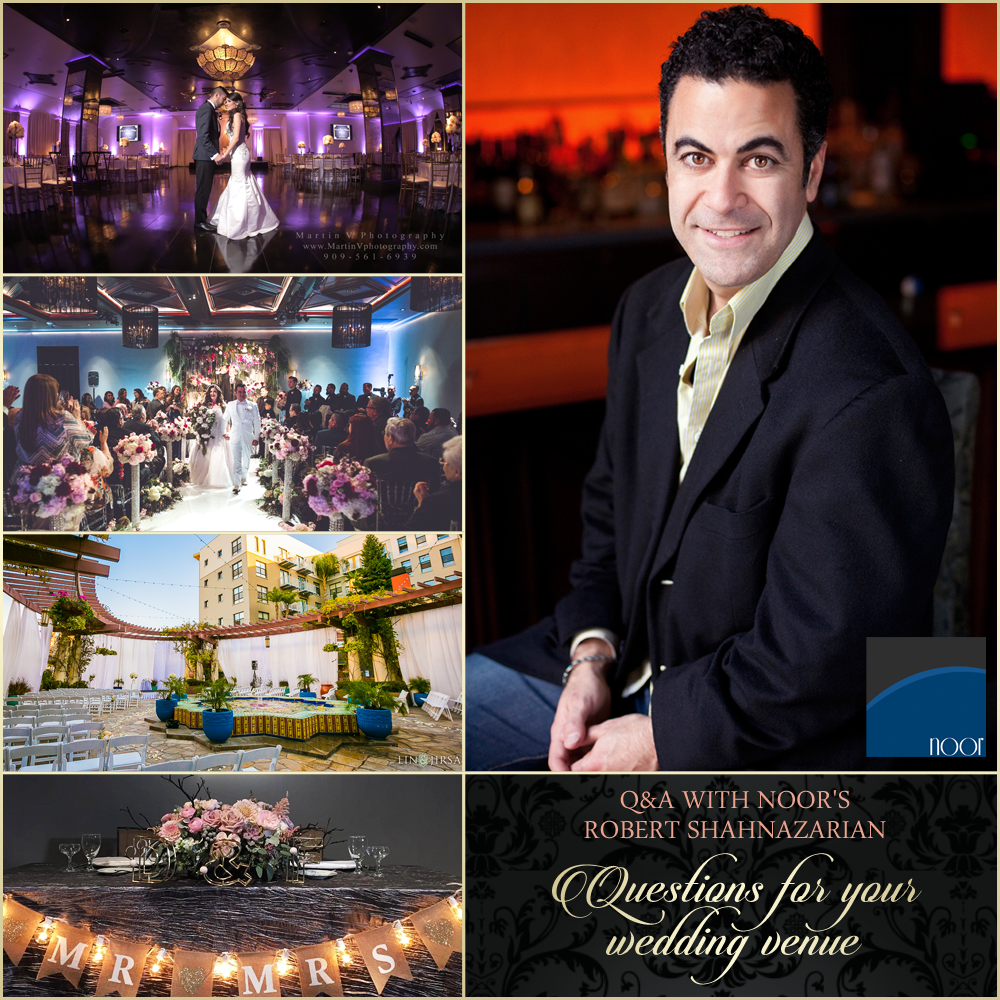 questions to ask wedding venues answered by noor pasadena
