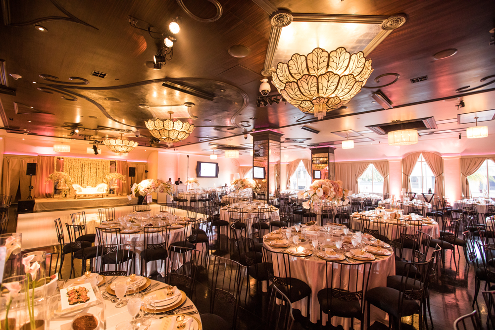 Los Angeles Banquet Hall Wedding Reception