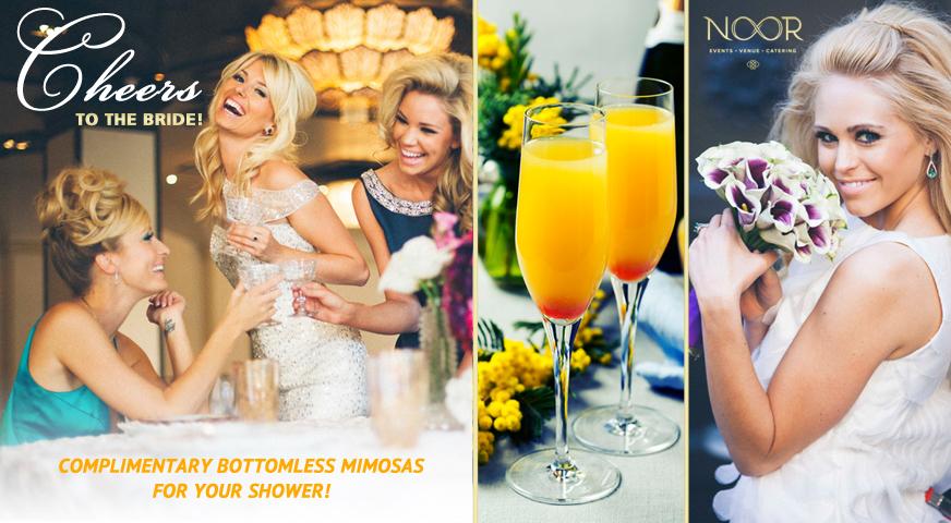 Noor Pasadena Bridal Shower Promotion