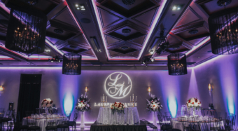 wedding reception in the ella banquet hall noor los angeles