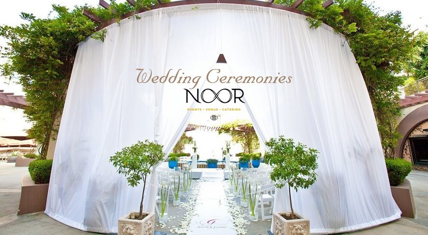 Los angeles wedding venue premier pasadena event space noor los angeles wedding ceremony venue junglespirit Images