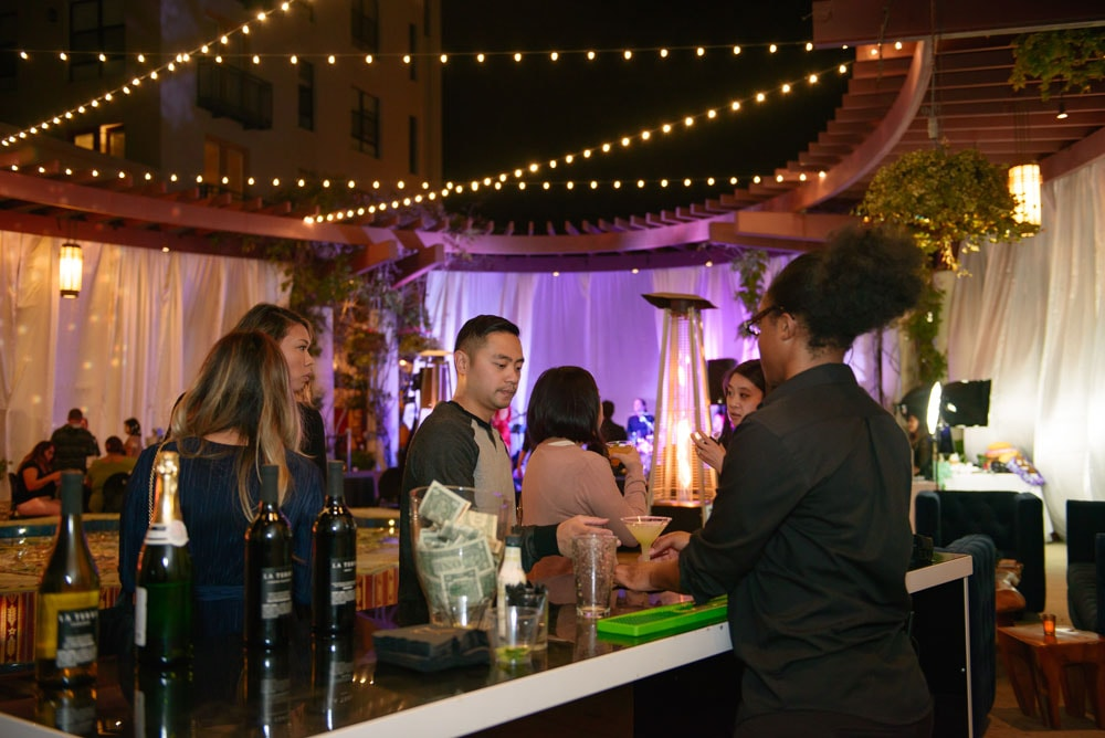 Wedding Show Terrace Cocktail Bar