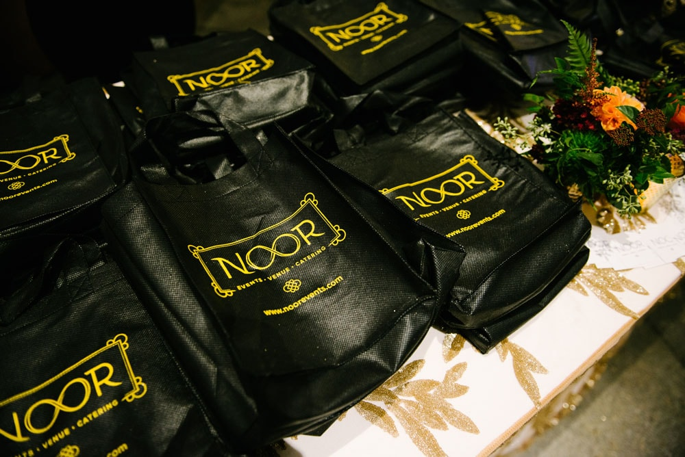 Wedding Show NOOR Gift Bags