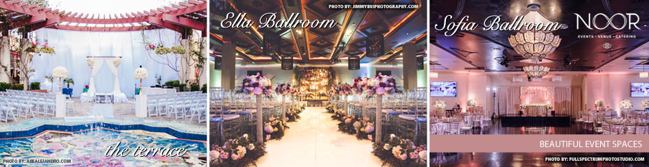 Banquet Halls at NOOR Los Angeles