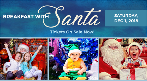 breakfast with santa los aangeles event