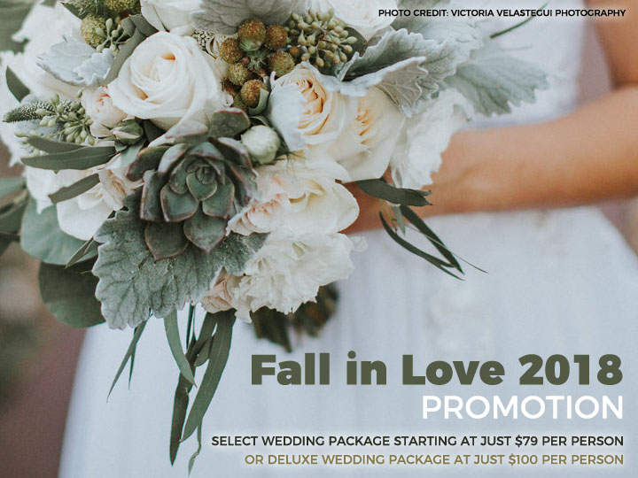Los Angeles Wedding Promotions Fall in Love 2018