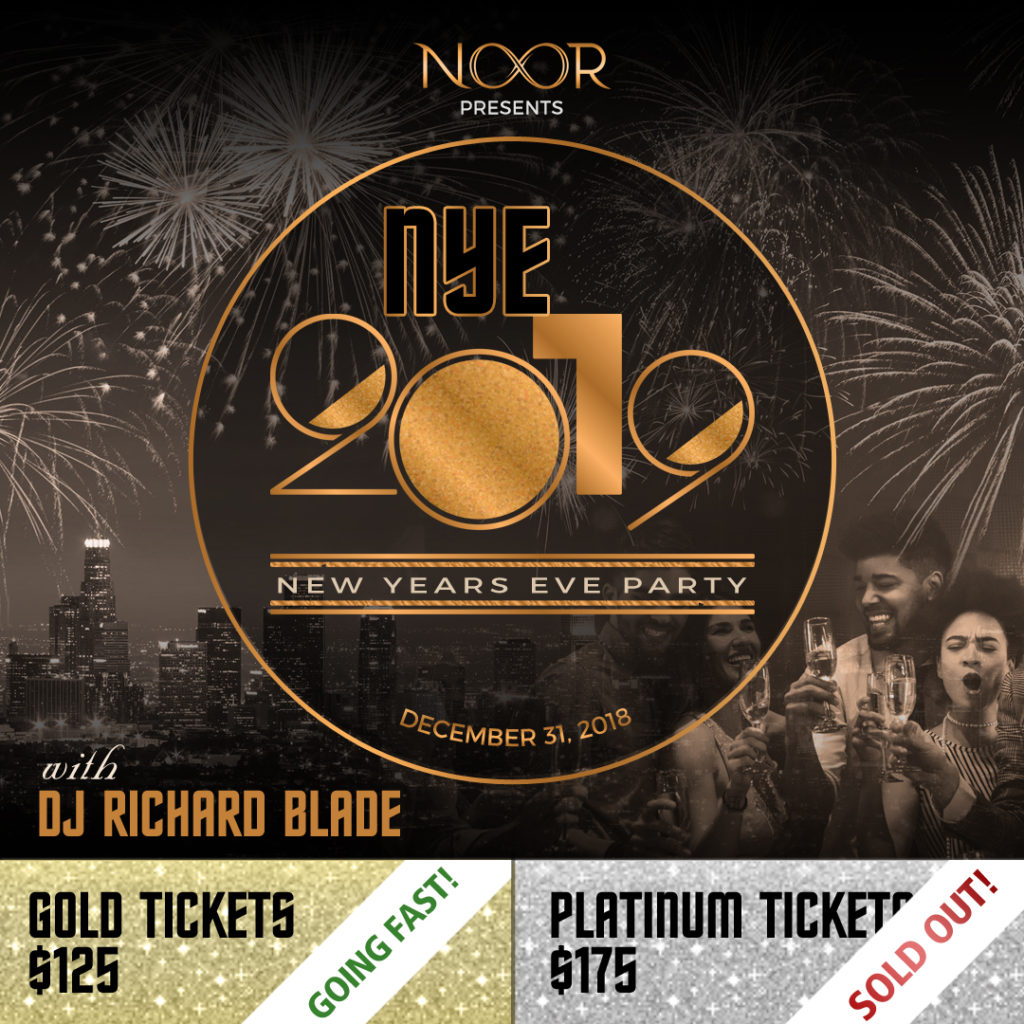 NYE 2019 with DJ Richard Blade Platinum Tickets Sold Out