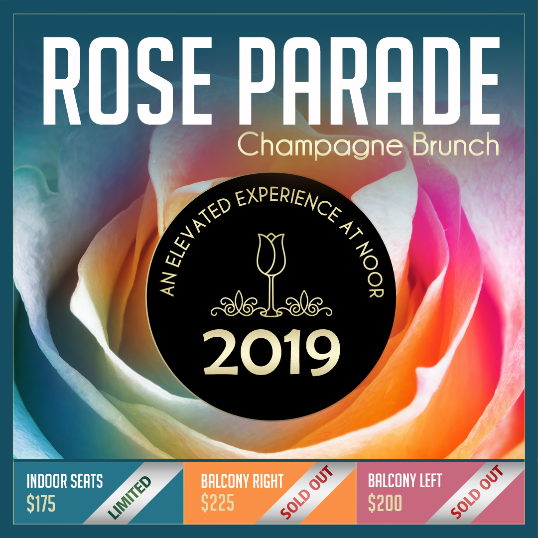 Rose Parade Champagne Brunch Almost Sold Out