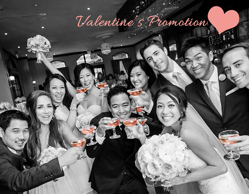 Valentine's Wedding Promotion NOOR Pasadena