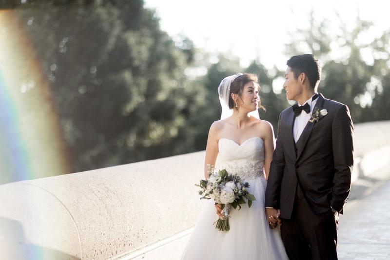 noor wedding pasadena bride and groom