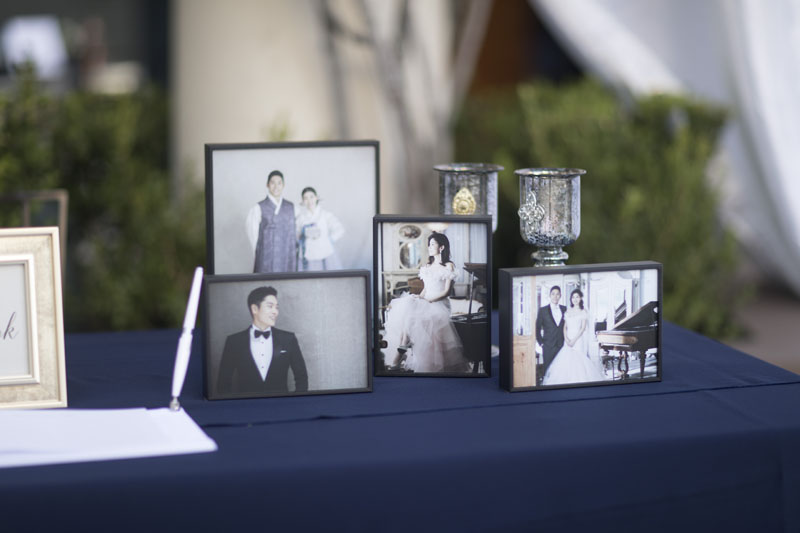 outdoor wedding ceremony pasadena wedding details