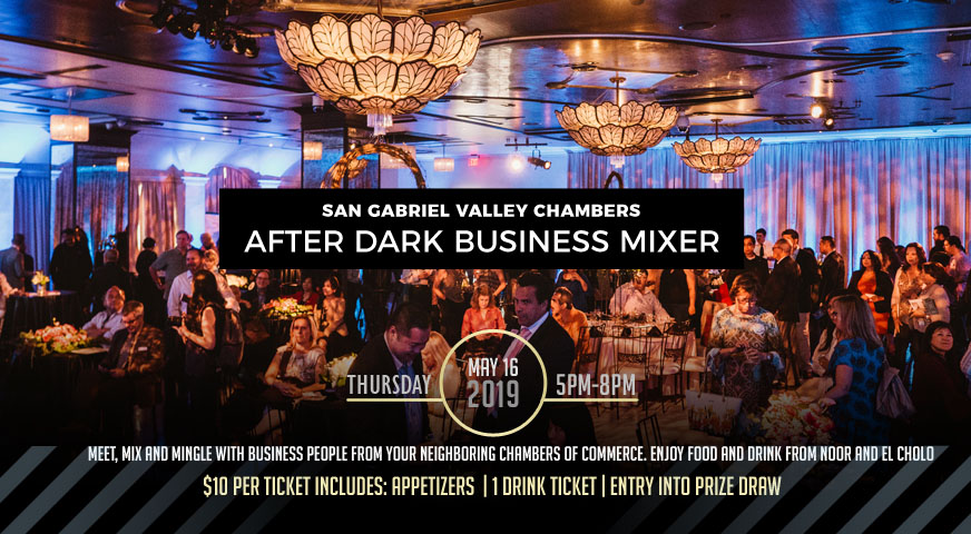 after dark business networking event at NOOR