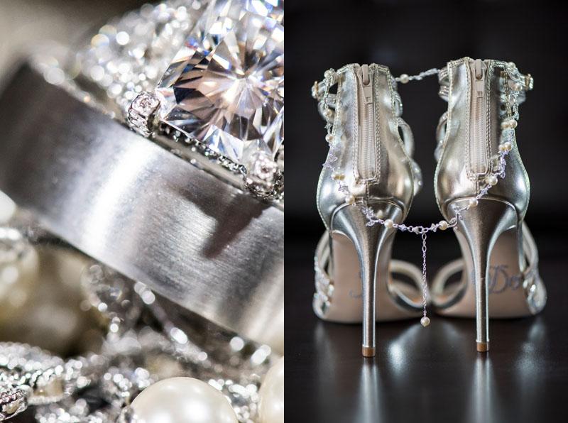 Steve Madden Wedding Shoes and Engagement Ring at NOOR Wedding Pasadena