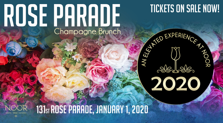 Rose Parade Champagne Brunch