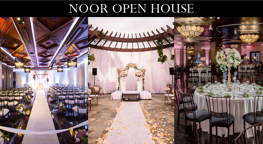 wedding banquet halls and terrace for outdoor ceremonies at noor
