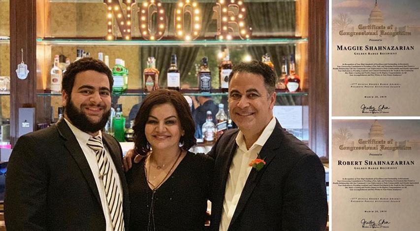 REobert, Maggie & Dvean Shahnazarian at NOOR Pasadena