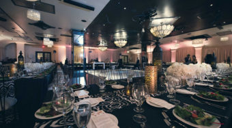 wedding reception setup sofia banquet hall at noor los angeles