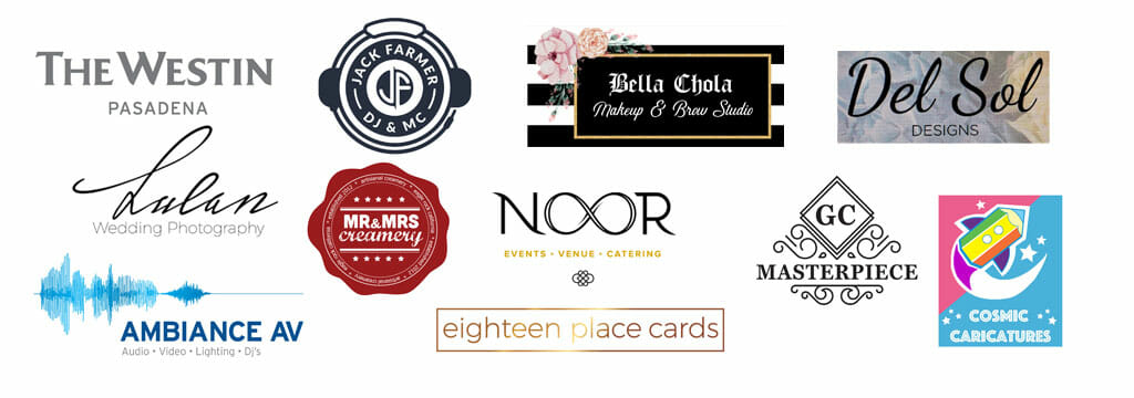 wedding show vendor logos