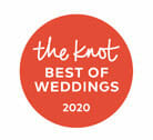 the knot best of weddings 2020 wedding venue award