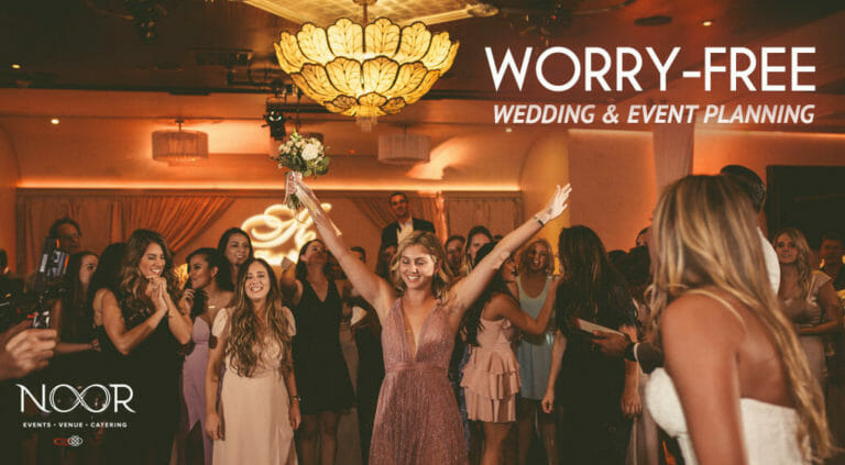 wedding booking at NOOR worry-free guarantee