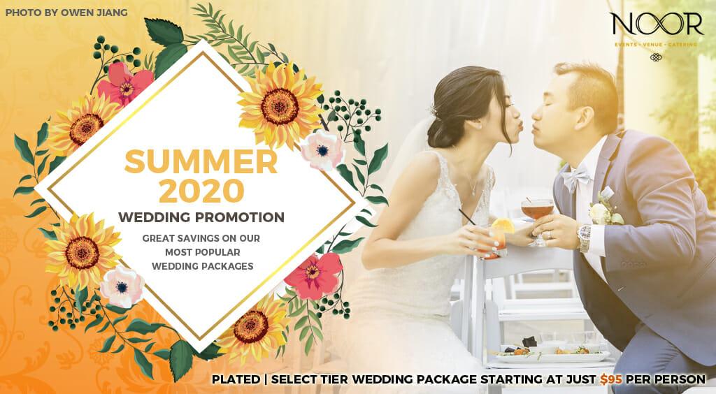 summer 2020 wedding promotions at noor banquet halls